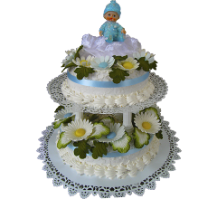 Торт для крестин 12