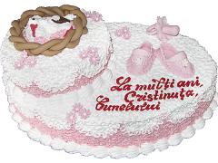 Торт для крестин 14