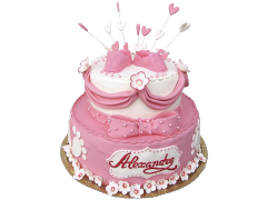 Торт для крестин 16