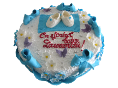 Торт для крестин 28