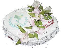 Корпоративный торт 07