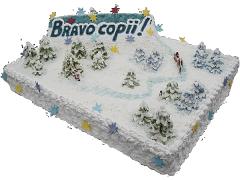 Корпоративный торт 25