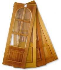 Doors interroom wooden