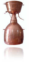 Аламбик алькитара на 10 литров, круглый