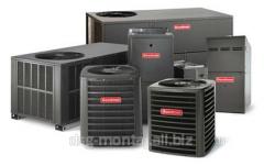 System of radiant heating Sanrad