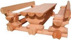 Larch furniture