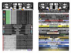 Рамки для номерных знаков