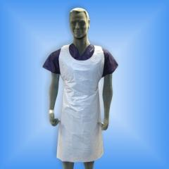 Aprons are polyethylene