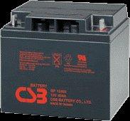 La batería GP12400 de la producción CSB