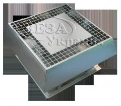 Вентилятор крышный радиальный малой высоты КРОМ