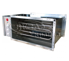 Air heater electric channel Channel-EKV
