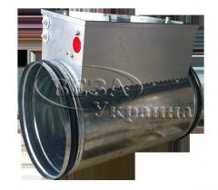 Электрический канальный воздухонагреватель для круглых каналов Канал-ЭКВ-К