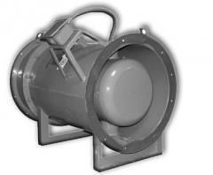 Вентилятор осевой дымоудаления ВОД-ДУ