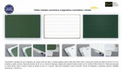 Table metalo-ceramica magnetice monobloc, LINIATE