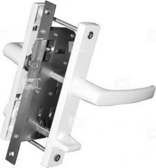 Дверной замок 30 mm центральный WC c Ручкой