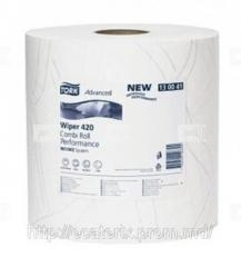 Paper for cleaning of Tork Advanced Wiper420 glass