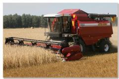 Combine grain-harvesting self-propelled KZS-1218