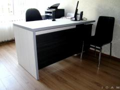 Office table and chair