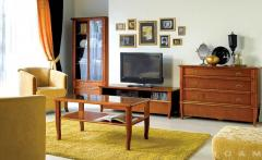 Sliding table and chairs