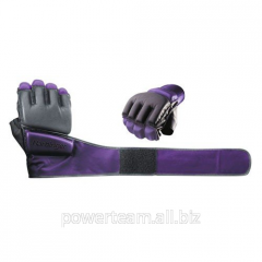 Women's gloves for a kickboxing of