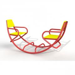 "ROCKING CHAIR FIGURATIVE ""COACH"""