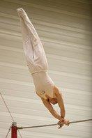 Crossbeam gymnastic (horizontal bar)