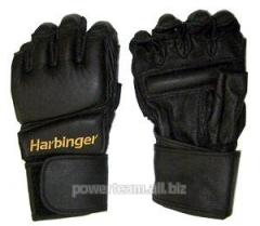 Gloves for a kickboxing of Wrist wrap bag glove