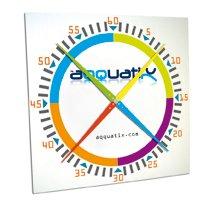 Темп-часы Regular Pace Clock White