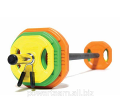 Bar with the kg disks Body Pump 20 art.4057