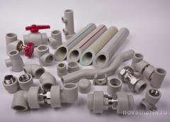 Трубы полипропиленовые для водопровода Ecoplastic, Чехия