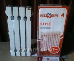 Радиатор чугунный Konner Modern Style