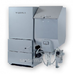 Copper on solid Ekoret fuel Fuel: wood granules,