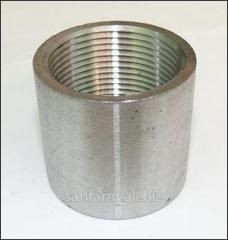 Муфта стальная оцинкованная d15 mm - d89 mm