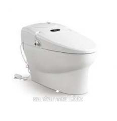 Унитаз Intelligent Toilet Автоматическое: открывание, закрывание, подогрев сиденья, подсветка, музыка, мойка, сушка, ароматизация  и тд