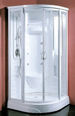 Shower cabin with functions of a hydromassage