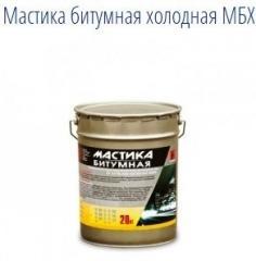 Мастика битумная холодная МБХ