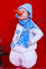 """Carnival costume """"Snowman"""