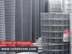 Сетка металлическая сварная, оцинкованная. Экспорт из Молдовы. Цены от производителя.
