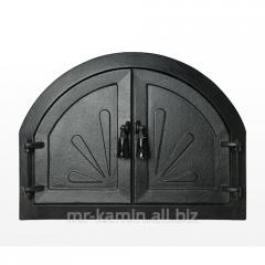Дверь барбекю