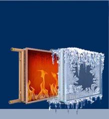 Copper-aluminum heater