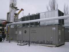 Gas-piston power plant of GE Jenbacher J420GS