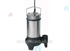 Submersible pump for removal of Wilo Drain STS 40