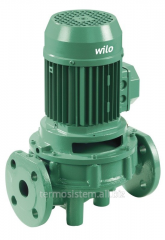 The pump with a dry rotor performed by Inline Wilo