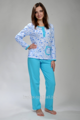Female pajamas, 100% cotton, excellent quality,