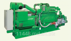 Generating installation, cogeneration system.