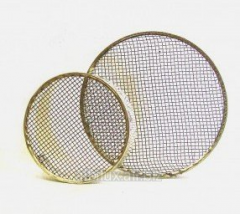 Cap for uterus of round corrosion-proof Ø 120 mm
