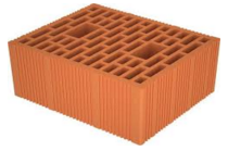 Brick for fences