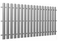 Fences are panel board