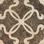 Tile of Ape Ceramica Kavala Décor Gozzi Crema