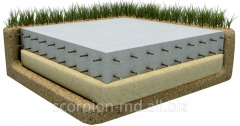 Geotextiles for the base